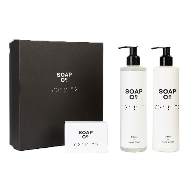 The Soap Co. - Gift Box Trio with Bar Soap 2