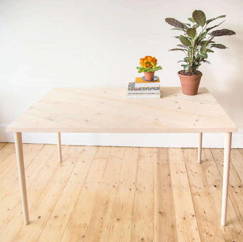 Made Anew - Rectangle Tilted Table 1