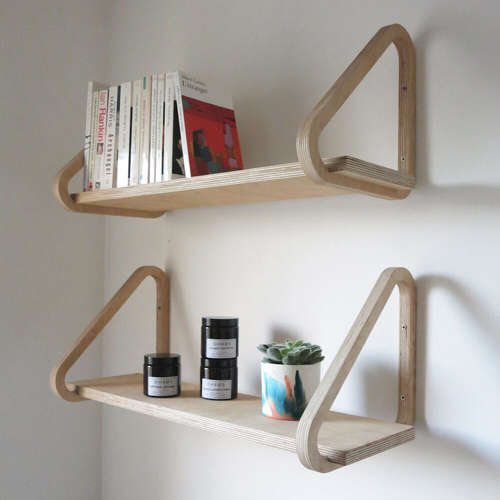 Sustainable Triangle Shelf 1