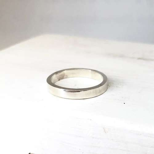Smoke and Ash - Flat Stacking Rings 1