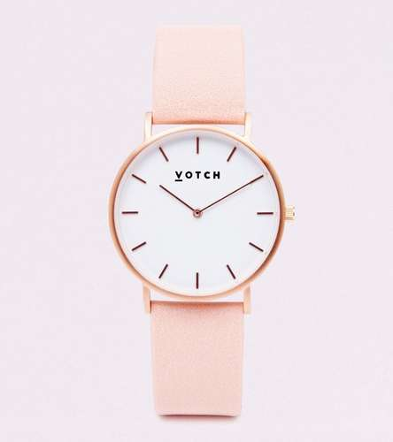 Pink Vegan Watch