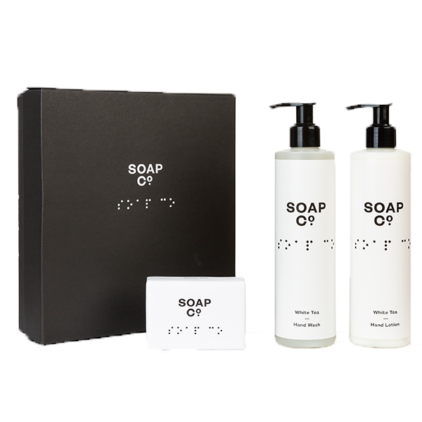 The Soap Co. - Gift Box Trio with Bar Soap 3