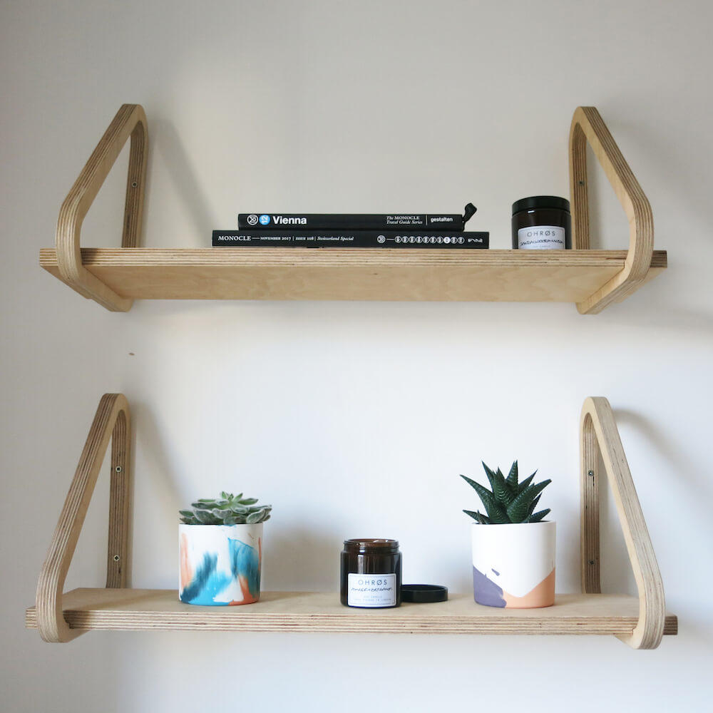 Sustainable Triangle Shelf 2