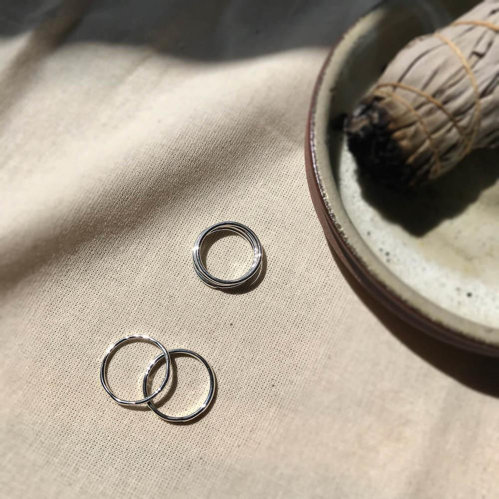 Ara | the altar - Phase | Stacking Ring Set 2