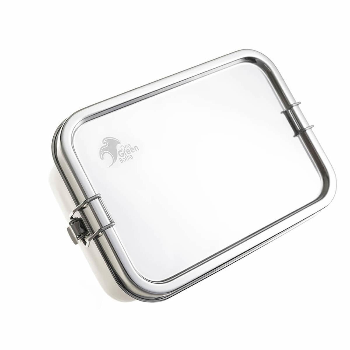 Rectangular Stainless Steel Lunch Box