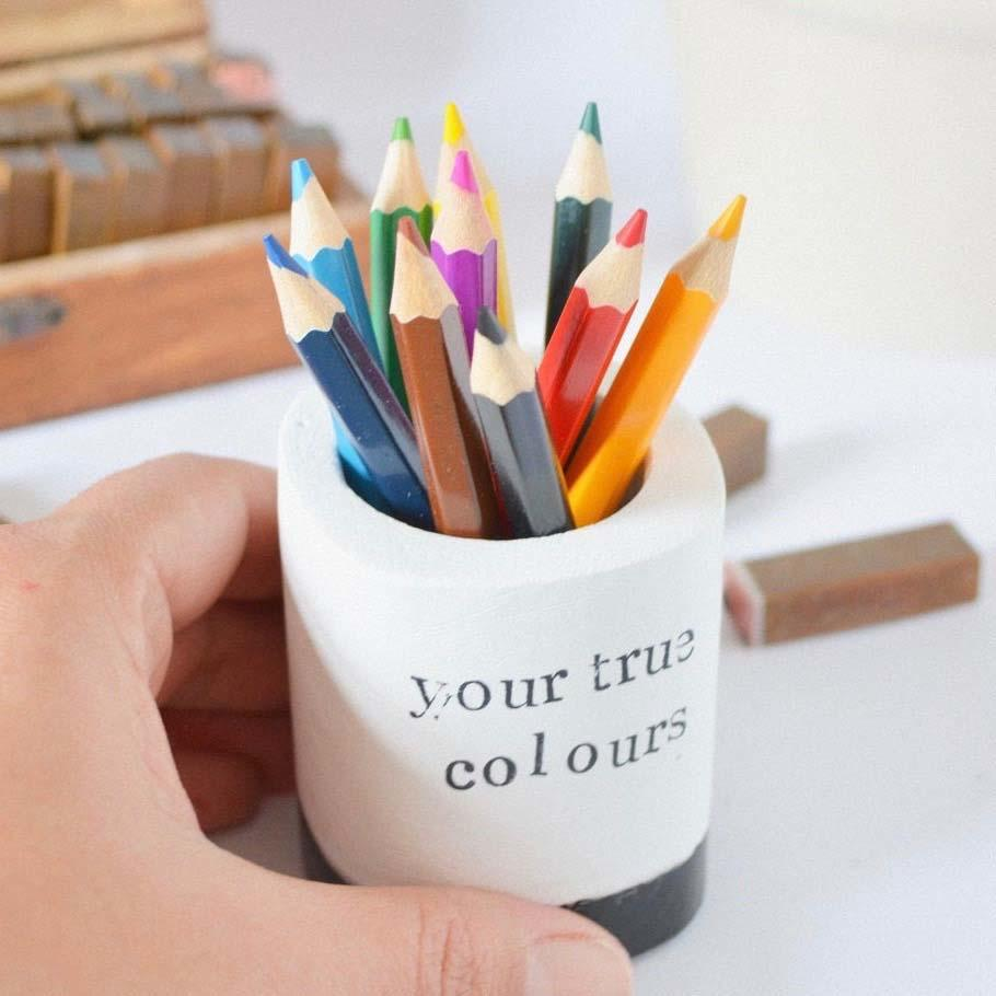 Your True Colours Pencil Holder 2