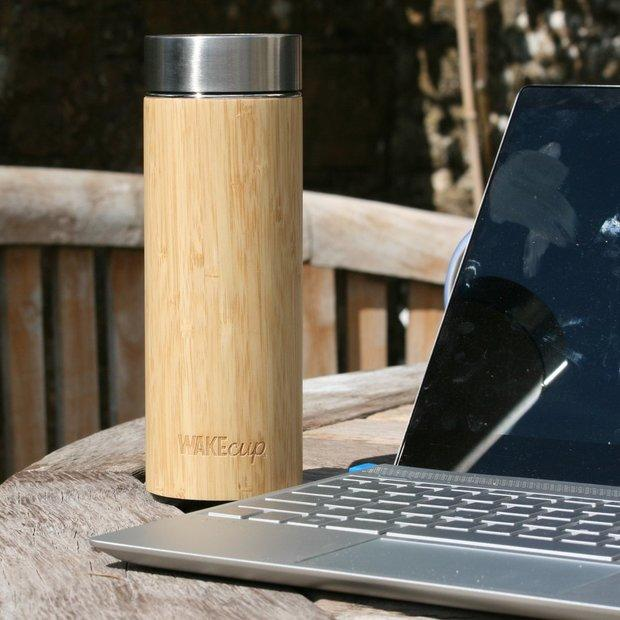 Bamboo Water Bottle 3