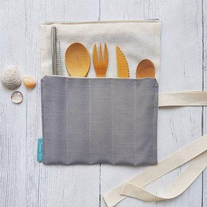 Grey Cutlery Set