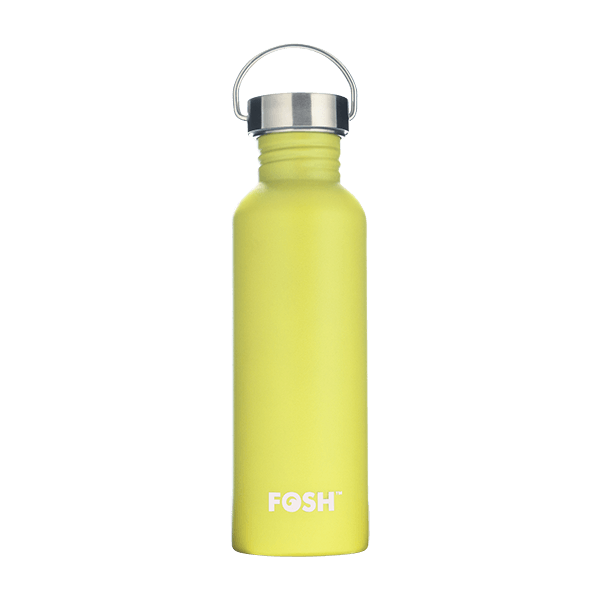 Butterfly Yellow Water Bottle - 750ml
