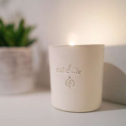 Coconut Wax Ceramic Candle