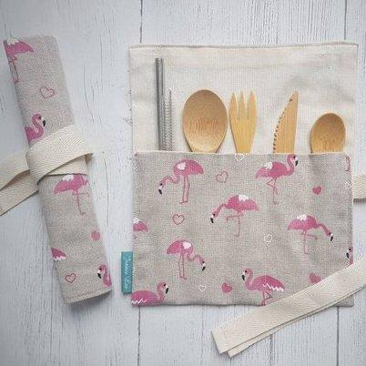 Flamingos Cutlery Set