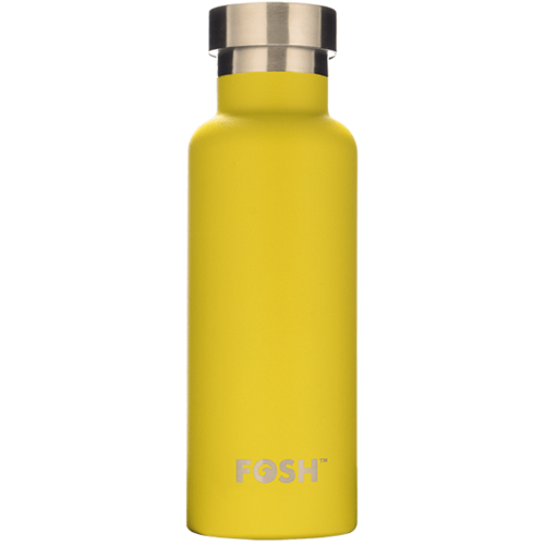 Butterfly Yellow Triple Insulated Bottle - 550ml