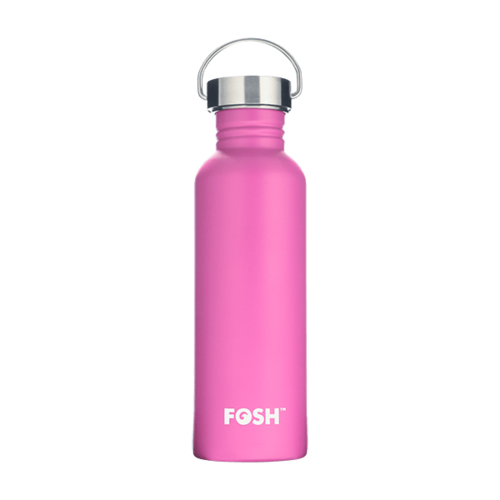 Flamingo Pink Water Bottle - 750ml