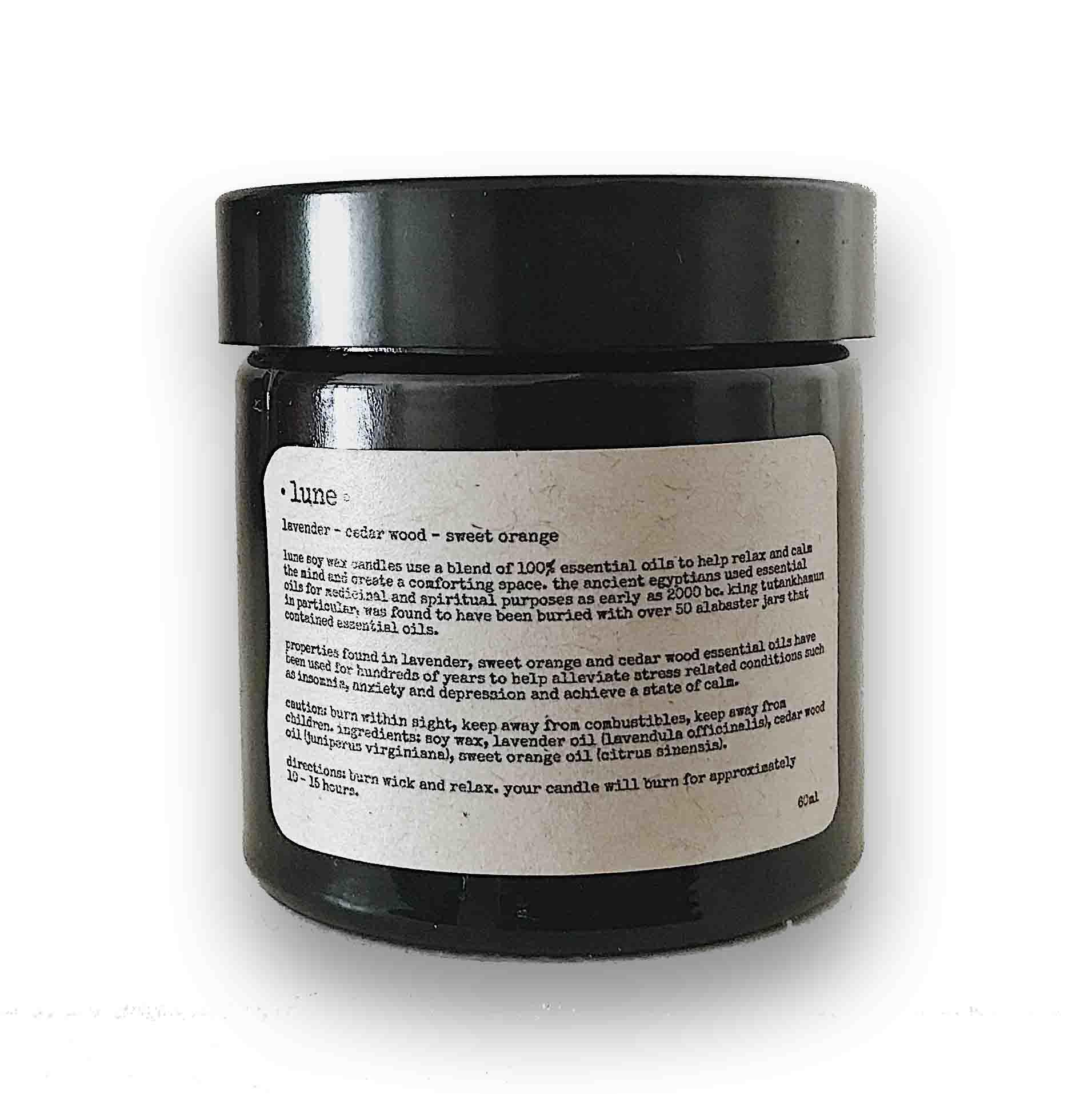 Essential Oil Soy Candle - 60ml