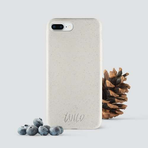 Biodegradable iPhone 8 plus phone case