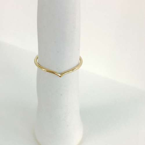 Recycled Gold Wishbone RIng