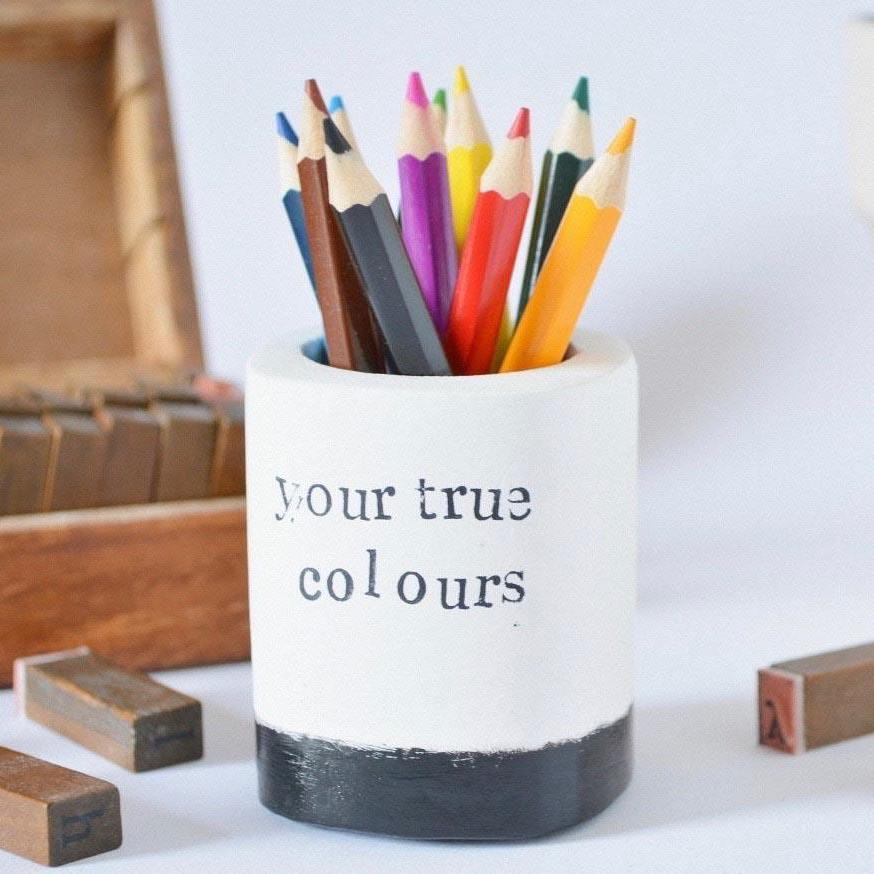 Your True Colours Pencil Holder