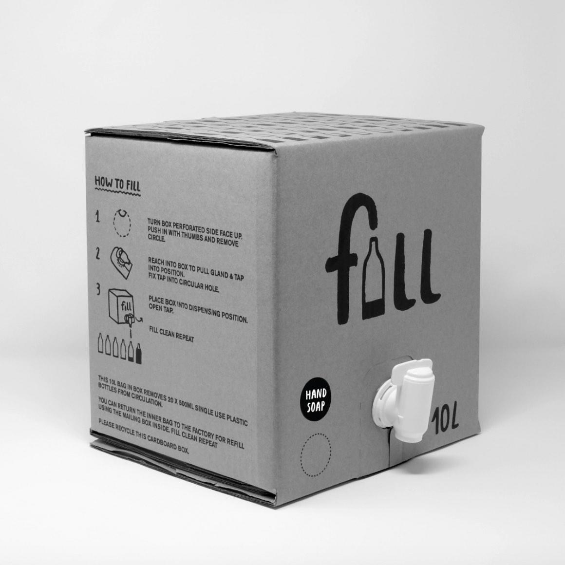 Bulk Hand Soap Refill Box