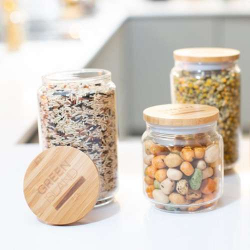 Glass Pantry Jars