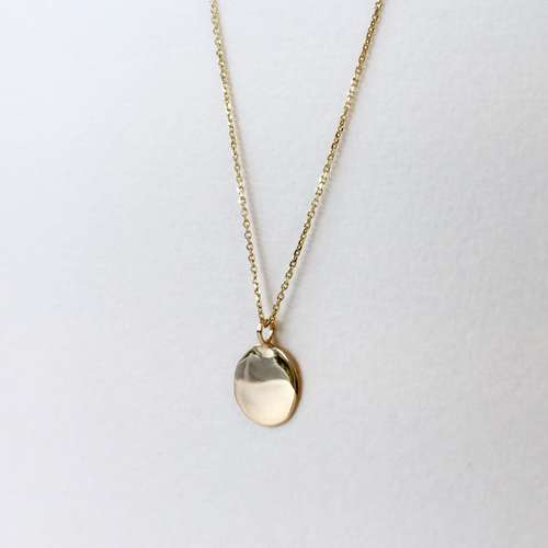 Recycled Gold Pendant Necklace