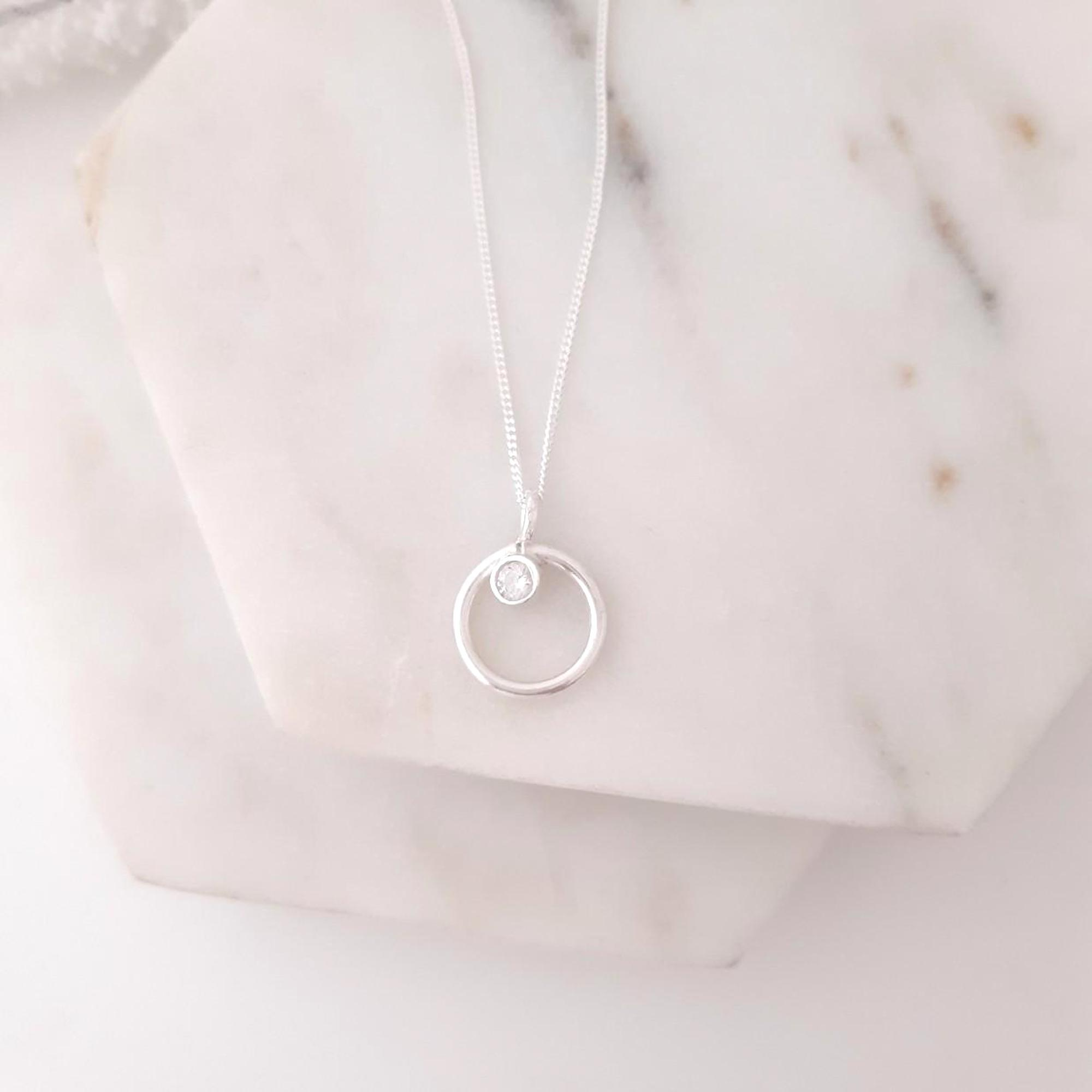 Pollux Diamond Necklace