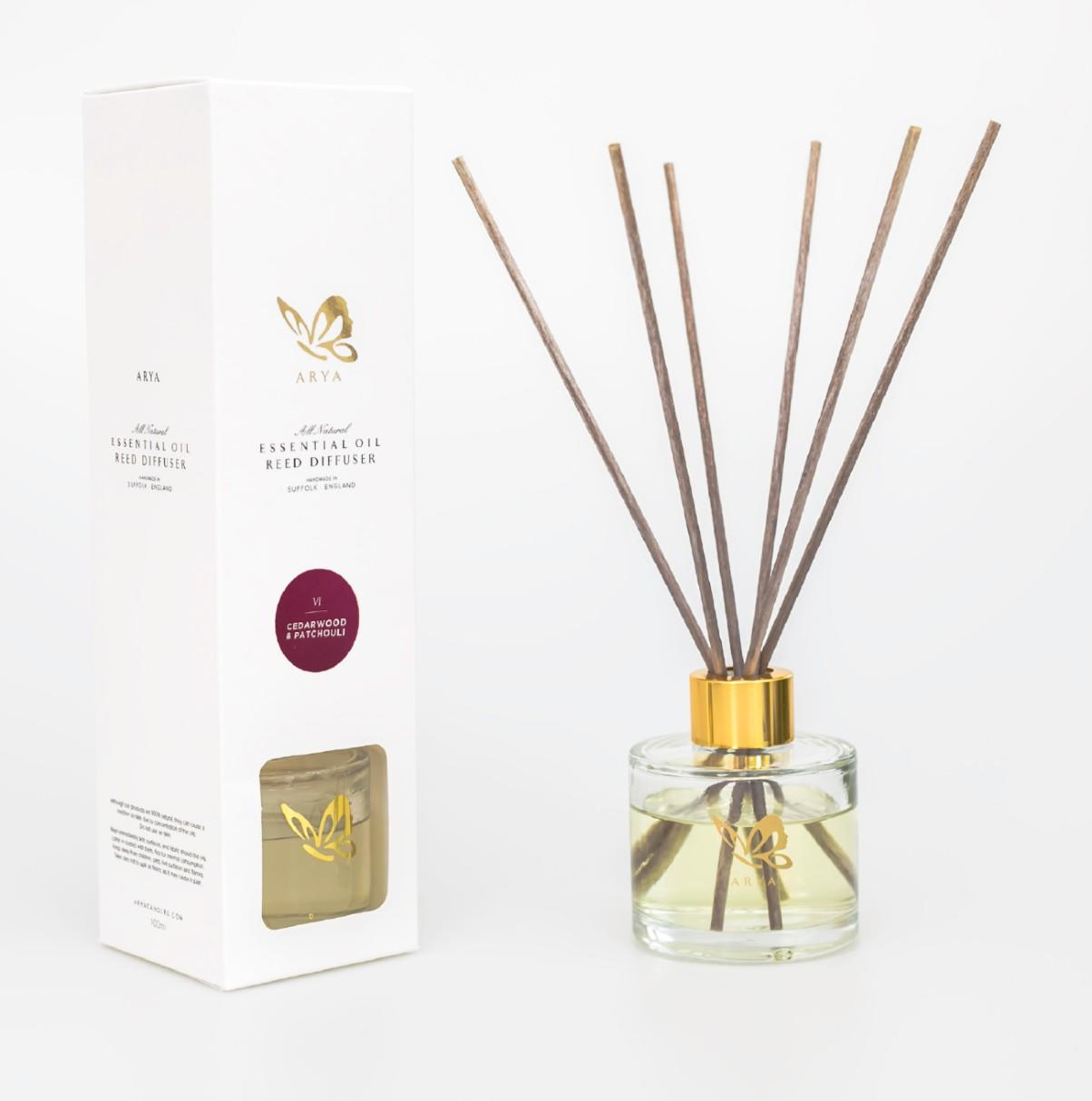 Cedarwood Oil Reed Diffuser