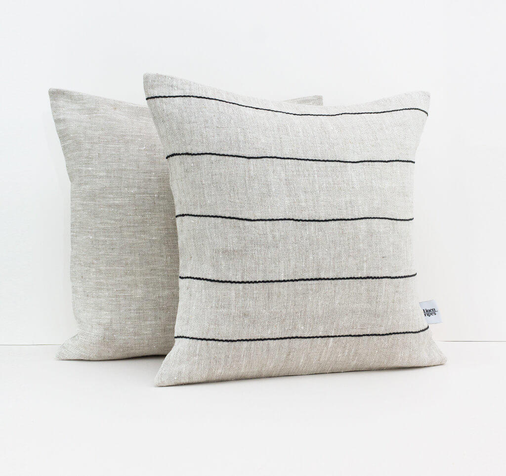Linen & Stripes - Striped Cushion Cover 4