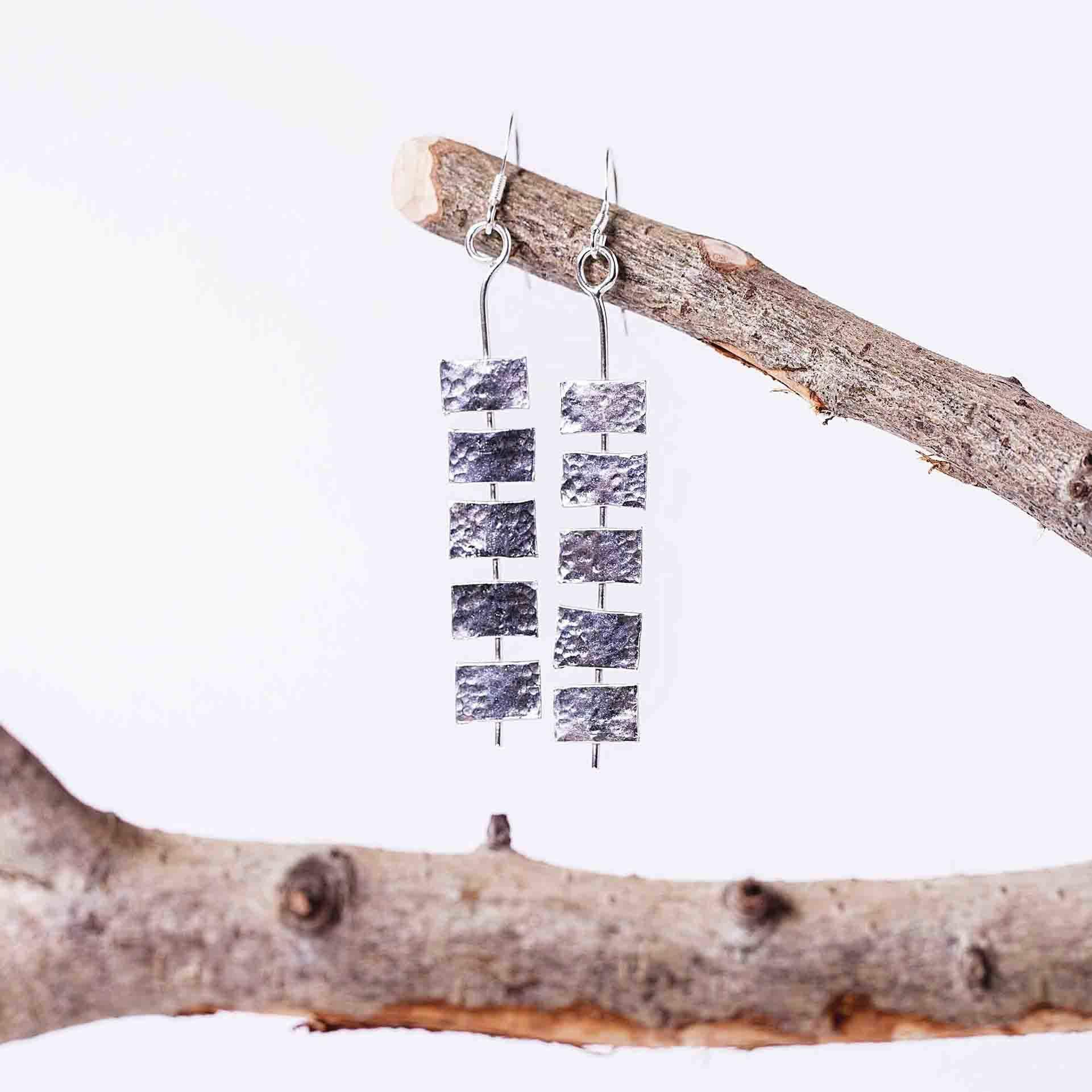 Spine Drop Earrings