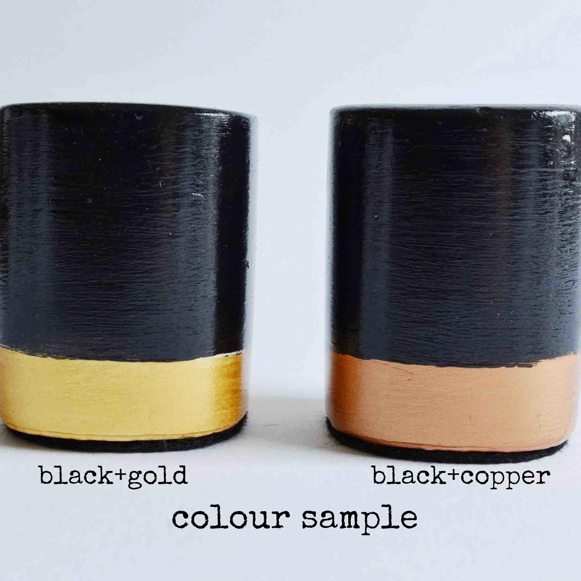 Black & Gold - Black & Copper