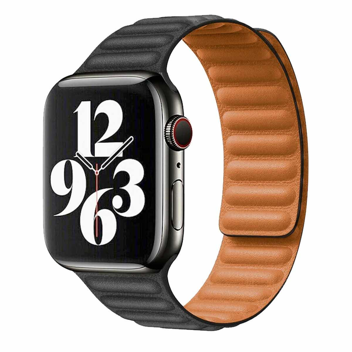 Vegan Leather Apple Watch Band