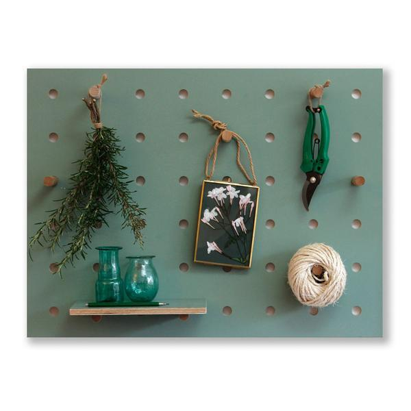 Kreis Design - Peg-it-all Little Pegboard Green