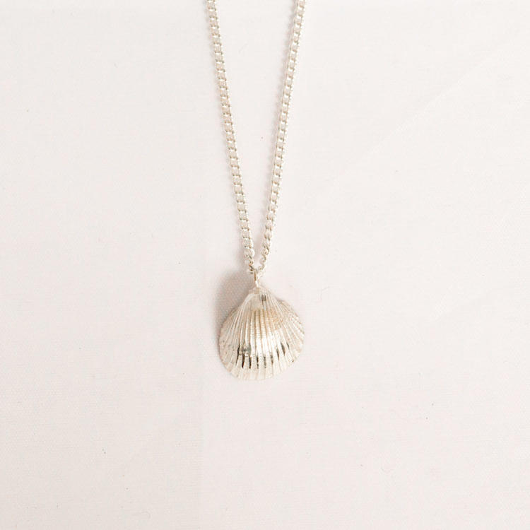 Handmade Small Cockle Shell Necklace 2