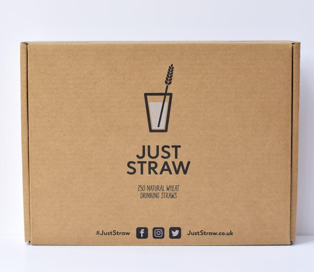 Just Straw Box (Front)