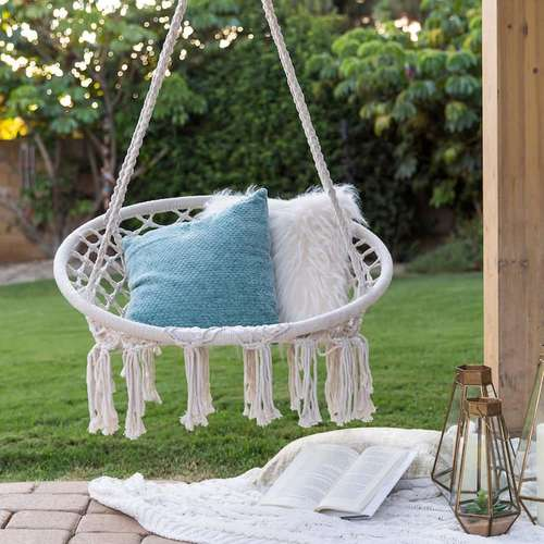 Cotton Swing Seat