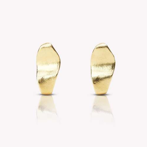 Pulau Earrings Gold