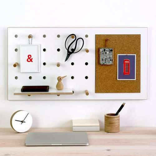 Kreis Design - Peg-it-all Pin Pegboard 1
