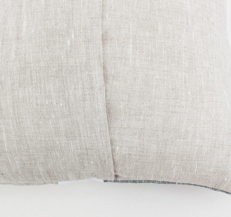 Linen & Stripes - Geometric Oblong Cushion Cover 4