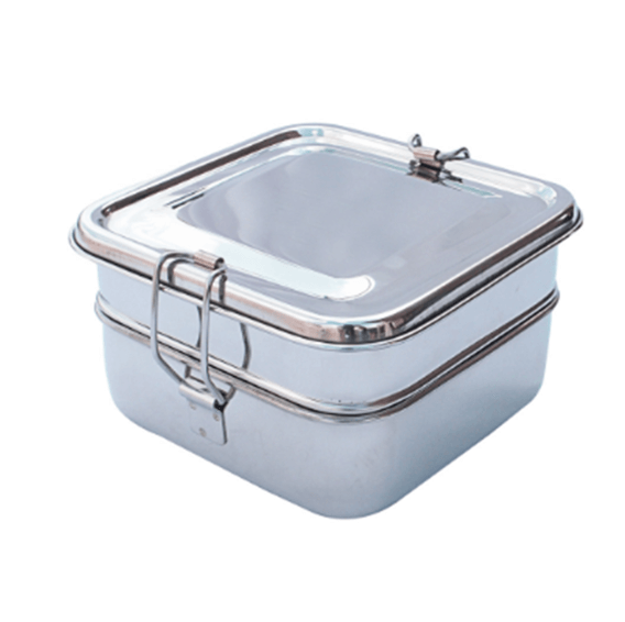 Stainless Steel Secure Lid.