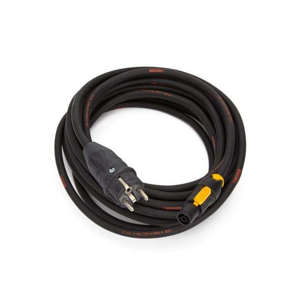 Neutrik powerCON TRUE1 DE Schuko Plug Lead