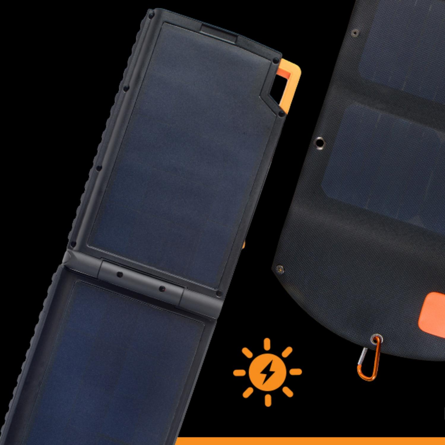solar chargers for generating power outdoors