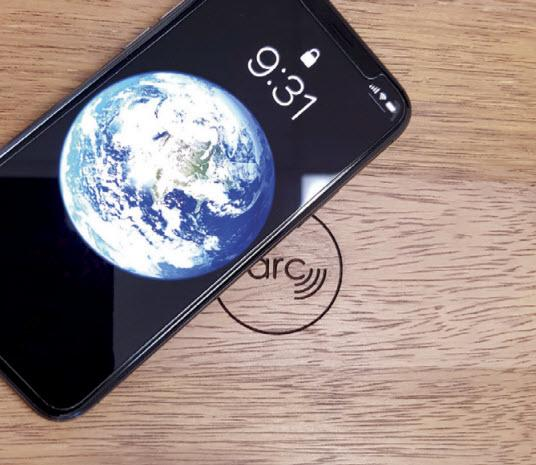 NEW! arc-H 10W Below Surface QI Compatible Wireless Charger
