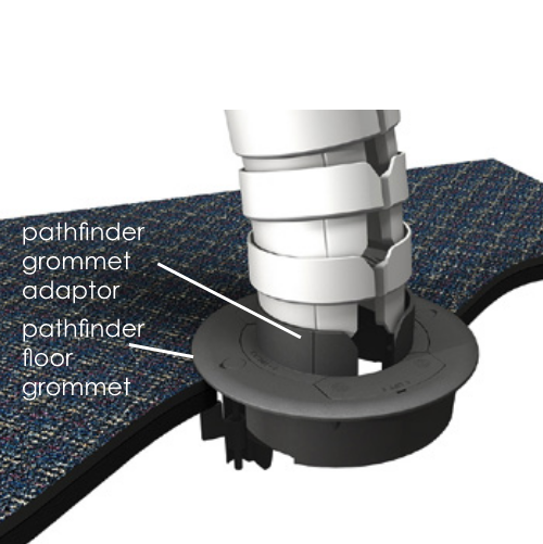 OE Electric Pathfinder Floor Grommet Adaptor