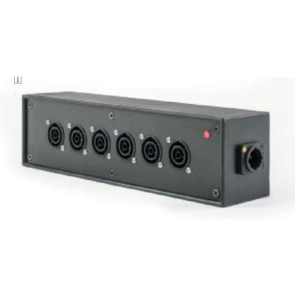 powerCON TRUE1 6way Distribution Box