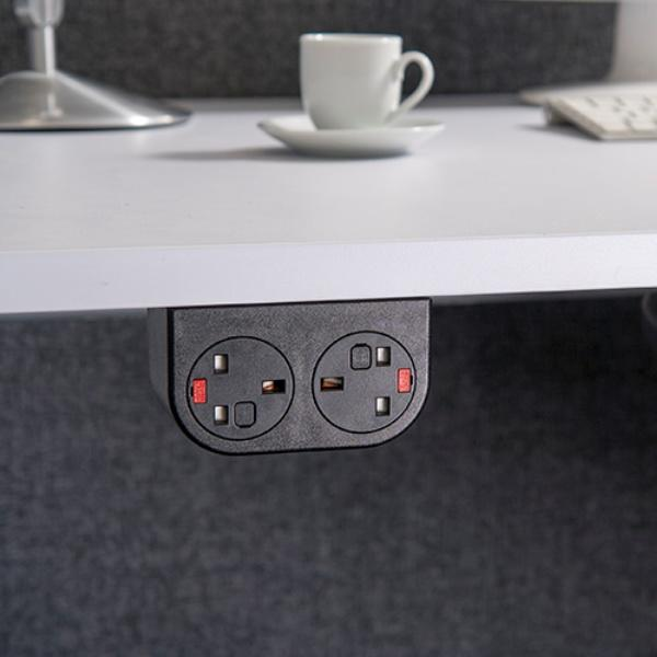 OE Electrics Phase Socket Unit under table