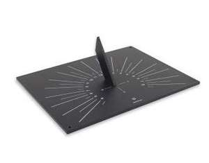 black slate like sundial