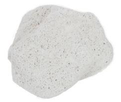 natural grey irregular shaped pumice stone