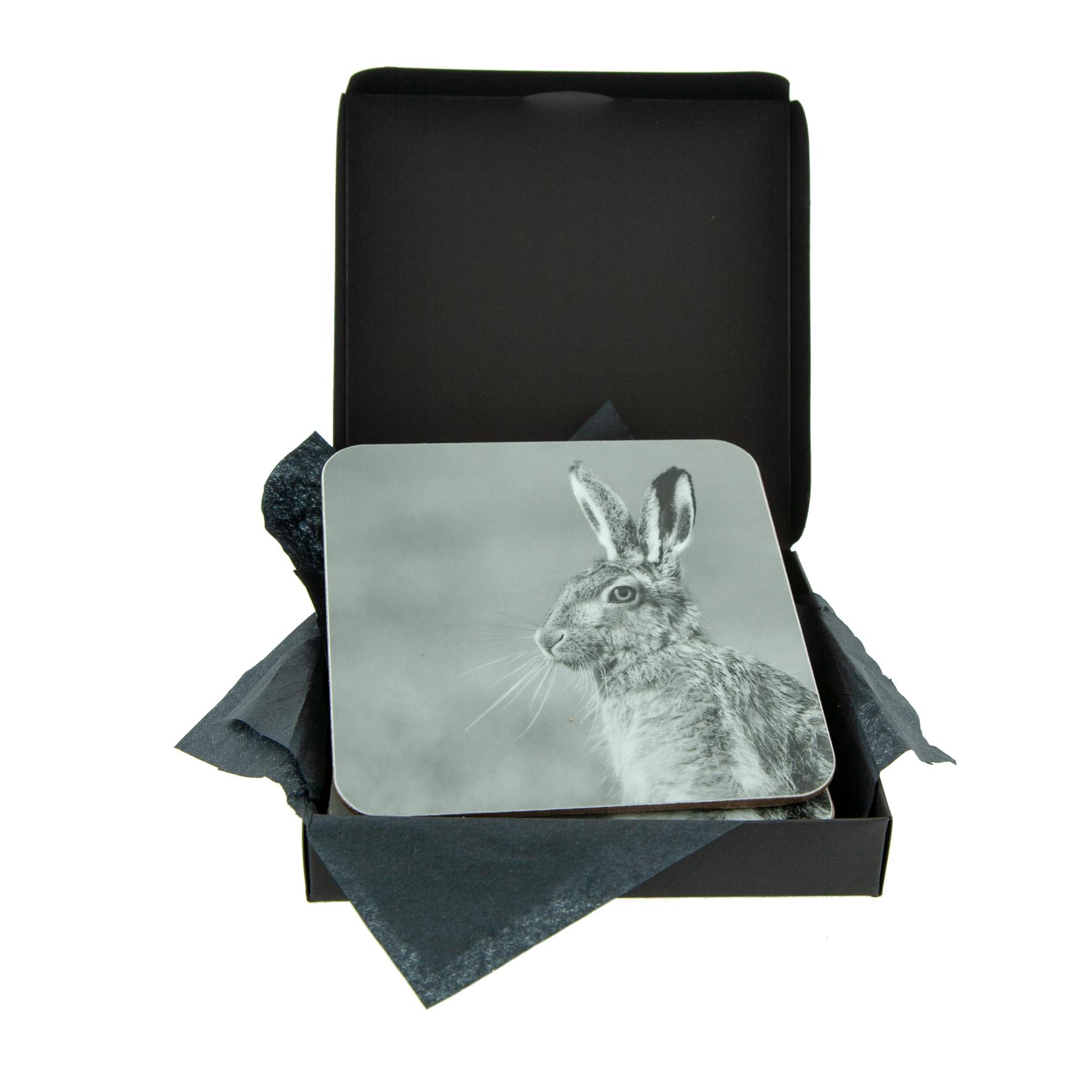 Grey Hare Coaster