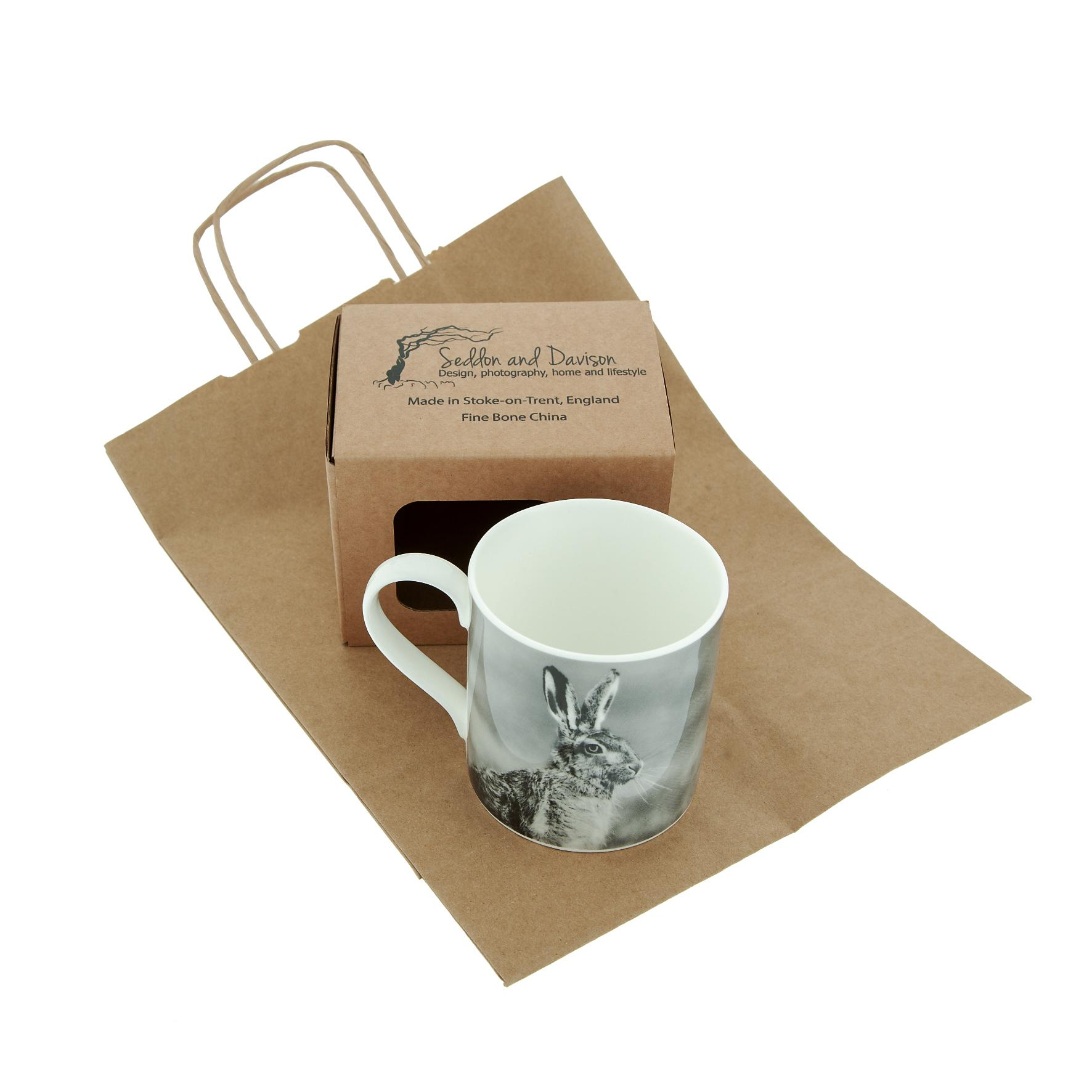 Hare Fine Bone China Mug 2