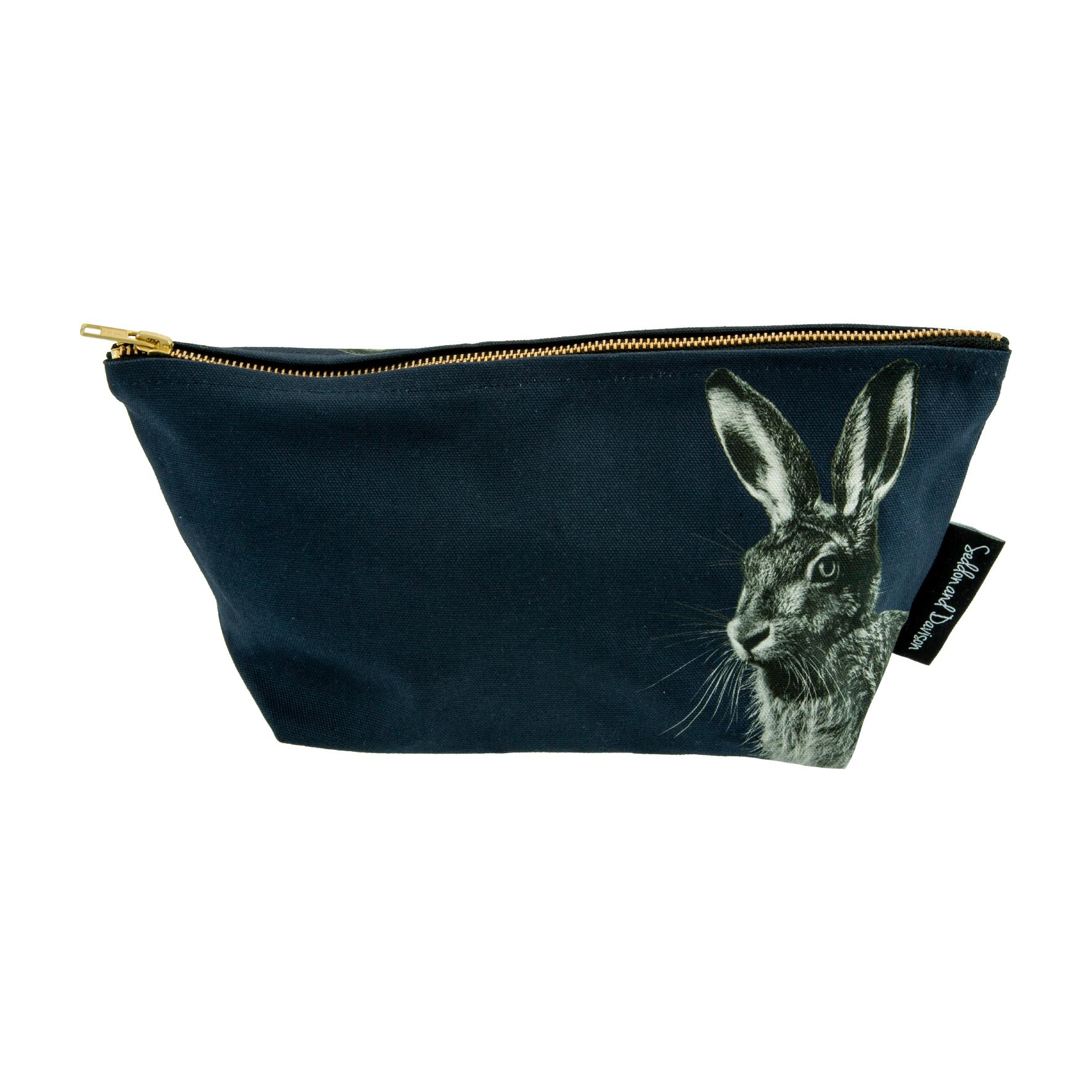 Hare Wash Bag - Blackberry