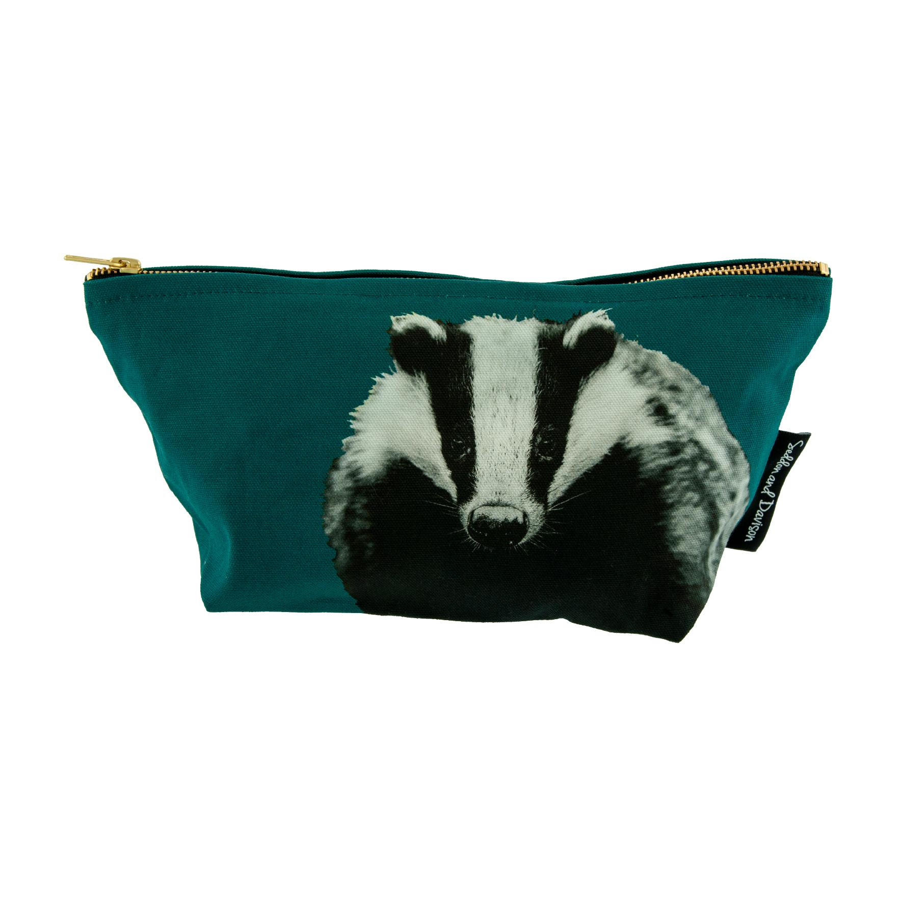 Badger Wash Bag - Teal